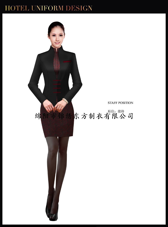 酒店大堂制服设计图-002